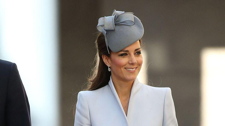 Kate Middleton : Un look BCBG pour Pâques (Photos)