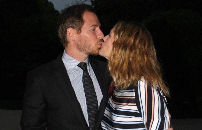 Drew Barrymore e il marito Will Kopelman