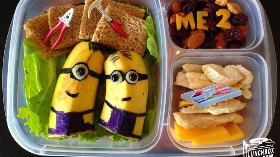 7 almuerzos tan divertidos que desearás ser una niña otra vez