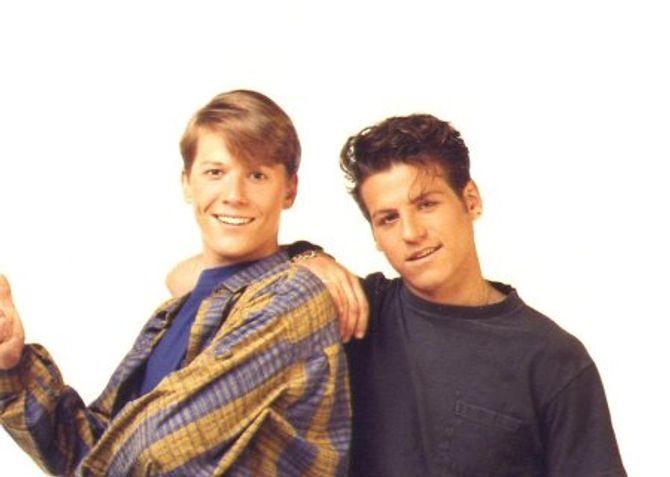 Parker Lewis et Mikey Rendall