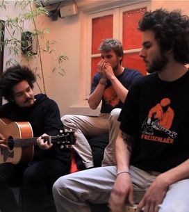 Live exclu : Milky Chance reprend Crazy de Gnarls Barkley