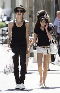 Blake Civil-Fielder und Amy Winehouse