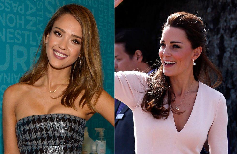 Jessica Alba, Kate Middleton... Quel décolleté pour l'été ?
