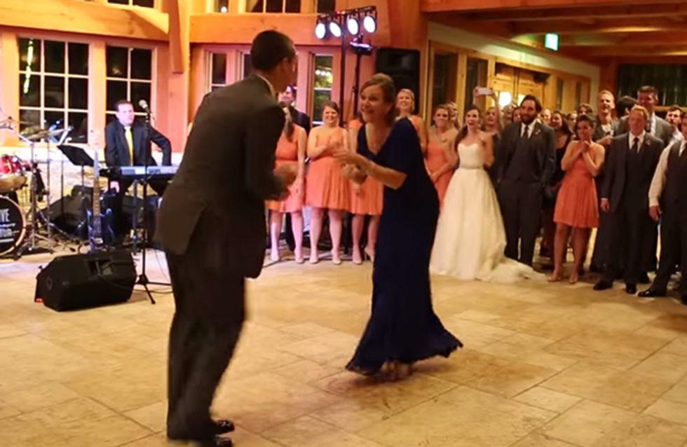 Diesen Hochzeitstanz werdet ihr so schnell nicht vergessen!