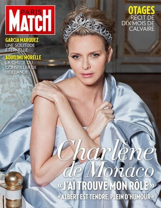 Charlène de Monaco pour Paris Match