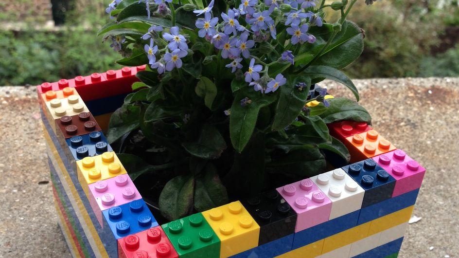 Idées déco : Des jolis cache-pots avec des LEGO®