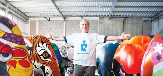 Mark Shand pour son organisation The Elephant Family
