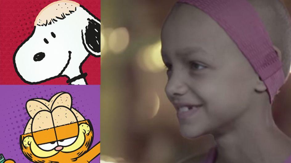 So unterstützt man krebskranke Kinder! Wenn Comic-Helden sich den Kopf rasieren