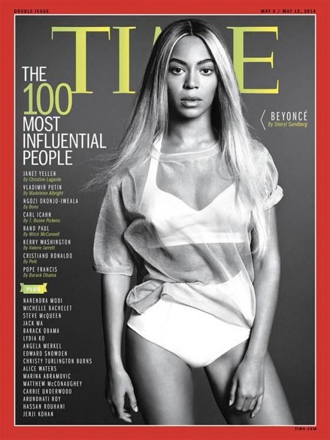 Beyoncé en couverture du Time