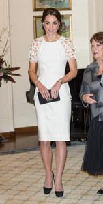Kate Middleton pour sa dernière soirée à Canberra