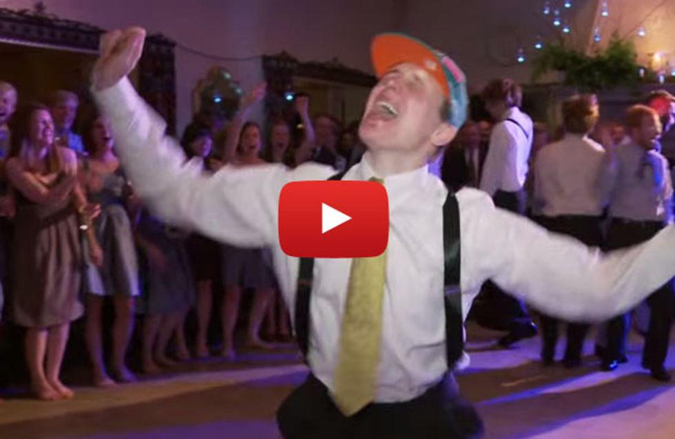 Das muss Liebe sein: Dieser Bräutigam tanzt für seine Liebste wie Justin Bieber