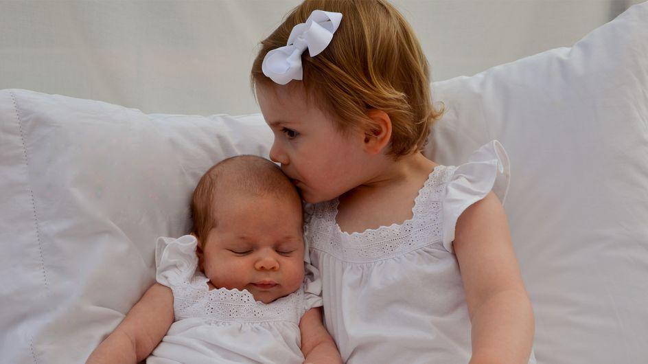 Las princesas Estelle y Leonore de Suecia al fin se conocen