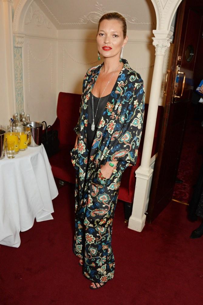 Kate Moss en Topshop aux Laurence Olivier Awards