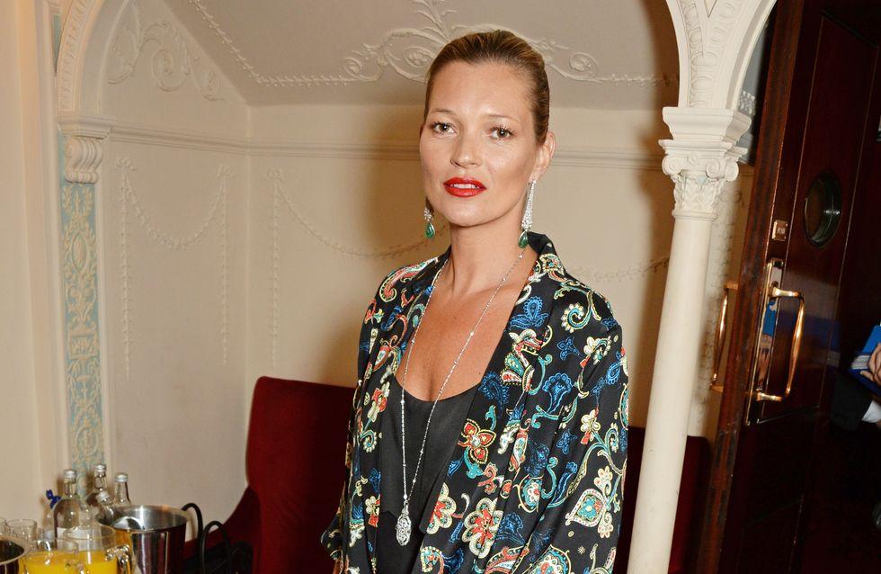 Kate Moss : On copie son look fleuri Topshop