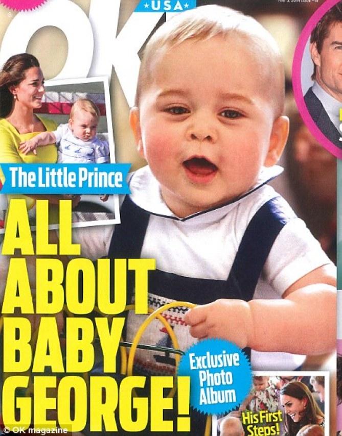 La couverture du magazine OK!