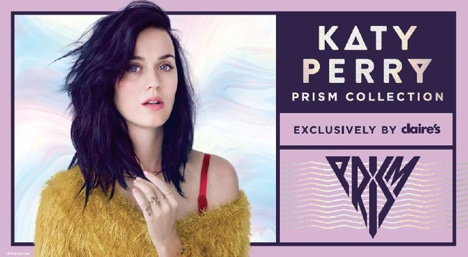 Katy Perry pour Claire's