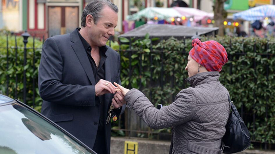 Eastenders 06/05 – Carol and David go to the registry office