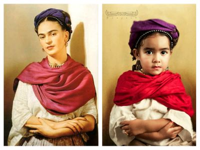 The Isis project : Frida Kahlo