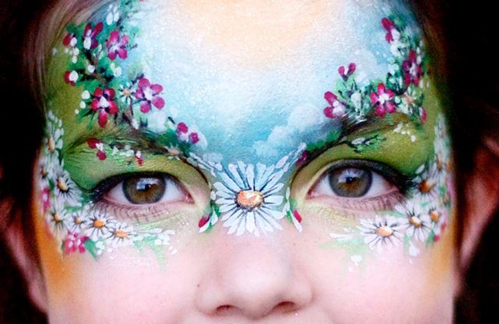 Une maman transforme le visage de ses filles en véritables oeuvres d'art (photos)