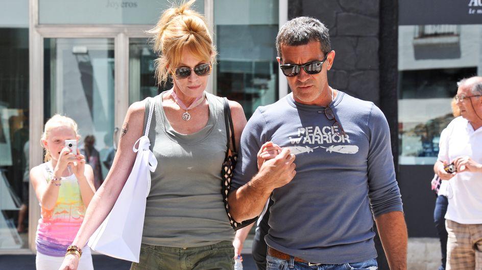 Antonio Banderas y Melanie Griffith, ¿al borde de la separación?