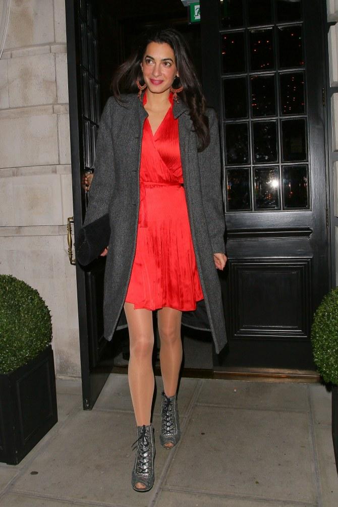 Amal Alamuddin, la fiancée de George Clooney