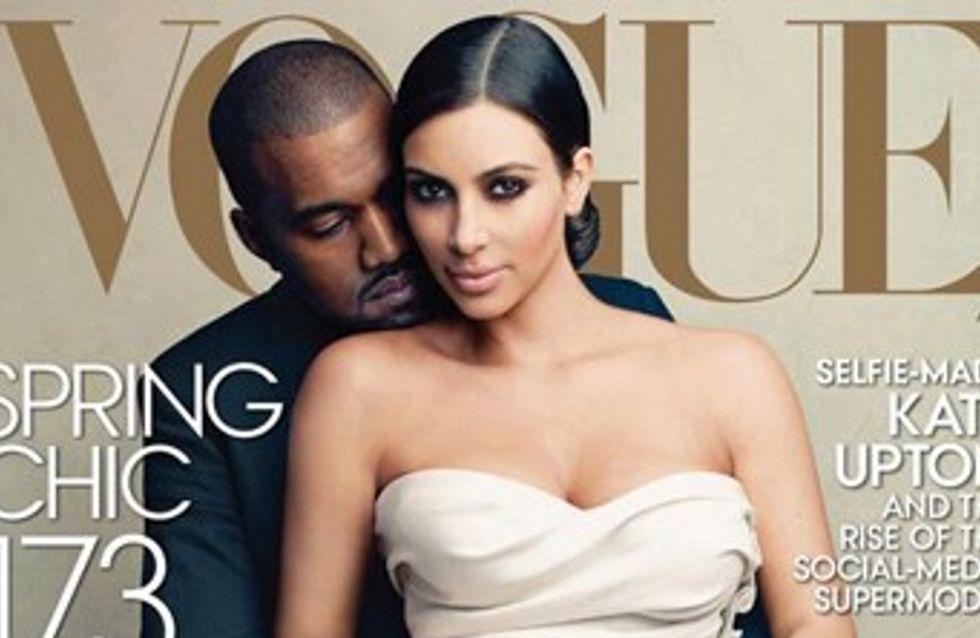 Kim Kardashian et Kanye West : Ils font exploser les ventes de Vogue !