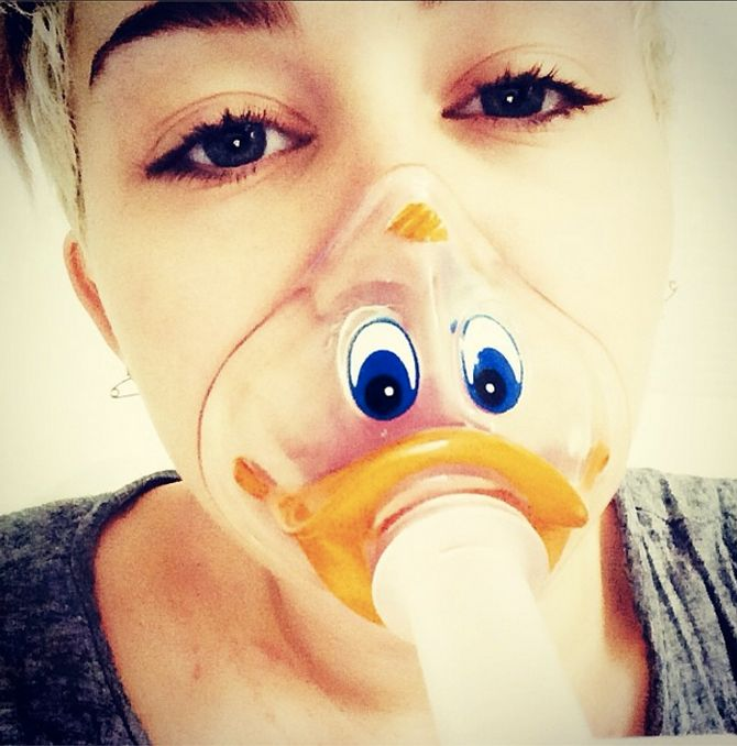 Miley Cyrus à l'hôpital