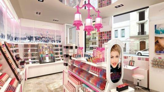 La nouvelle boutique Bourjois à Paris