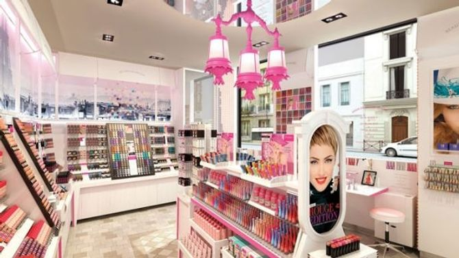 La nouvelle boutique Bourjois à Paris