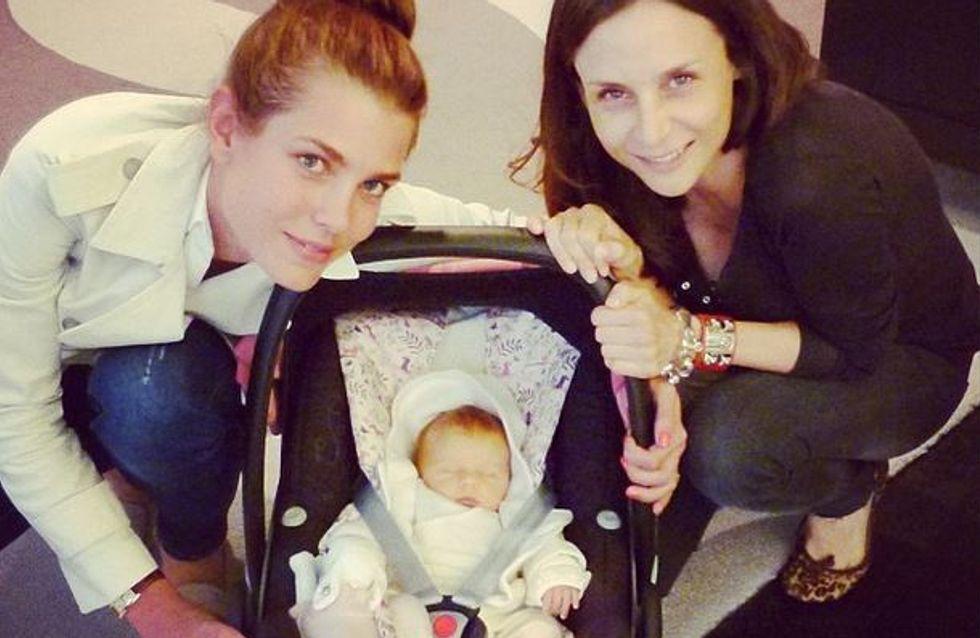 Charlotte Casiraghi : La jeune maman est radieuse ! (Photos)