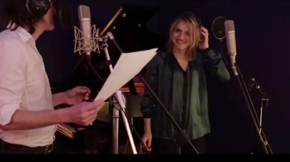 Amandine Bourgeois : Dans les coulisses de l'enregistrement de son nouvel album avec Cali (vidéo)
