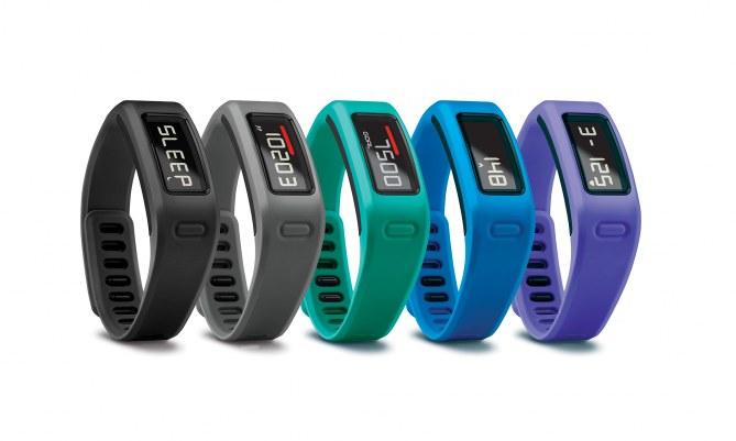 Bracelet réglable et choix de couleurs, Garmin Vivofit