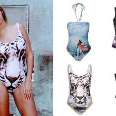 Comme Beyoncé, on veut un maillot de bain animalier