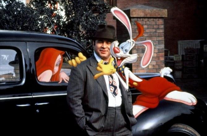 """Bob Hoskins in """"Chi ha incastrato Roger Rabbit?"""""""