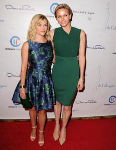Charlène de Monaco et Reese Witherspoon