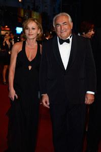 Dominique Strauss-Kahn et sa compagne