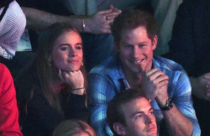 Prinz Harry und Cressida Bonas.