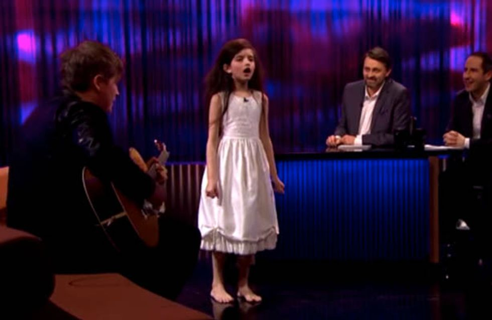 This Little Girl's Rendition Of Fly Me To The Moon Is Unbelievable