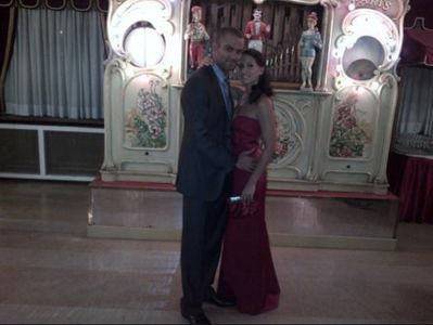 Tony Parker et Axelle Francine