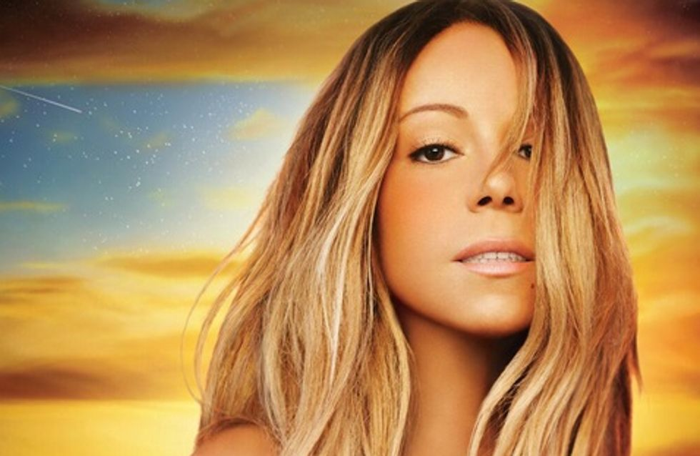 Mariah Carey : Sexy mais ultra photoshoppée sur la pochette de son nouvel album (photos)