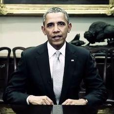 Barack Obama et Daniel Craig : Ils luttent contre les agressions sexuelles faites aux femmes ! (Video)