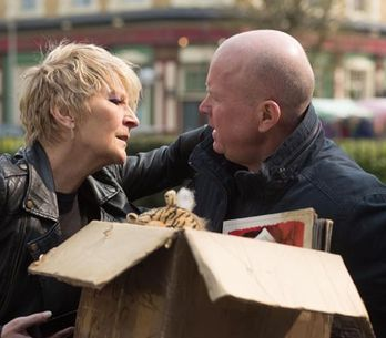 Eastenders 16/05 – Shirley tries to kiss Phil