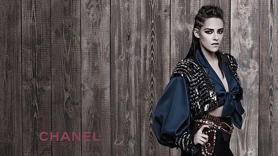 Y Karl Lagerfeld convirtió a Kristen Stewart en musa de Chanel