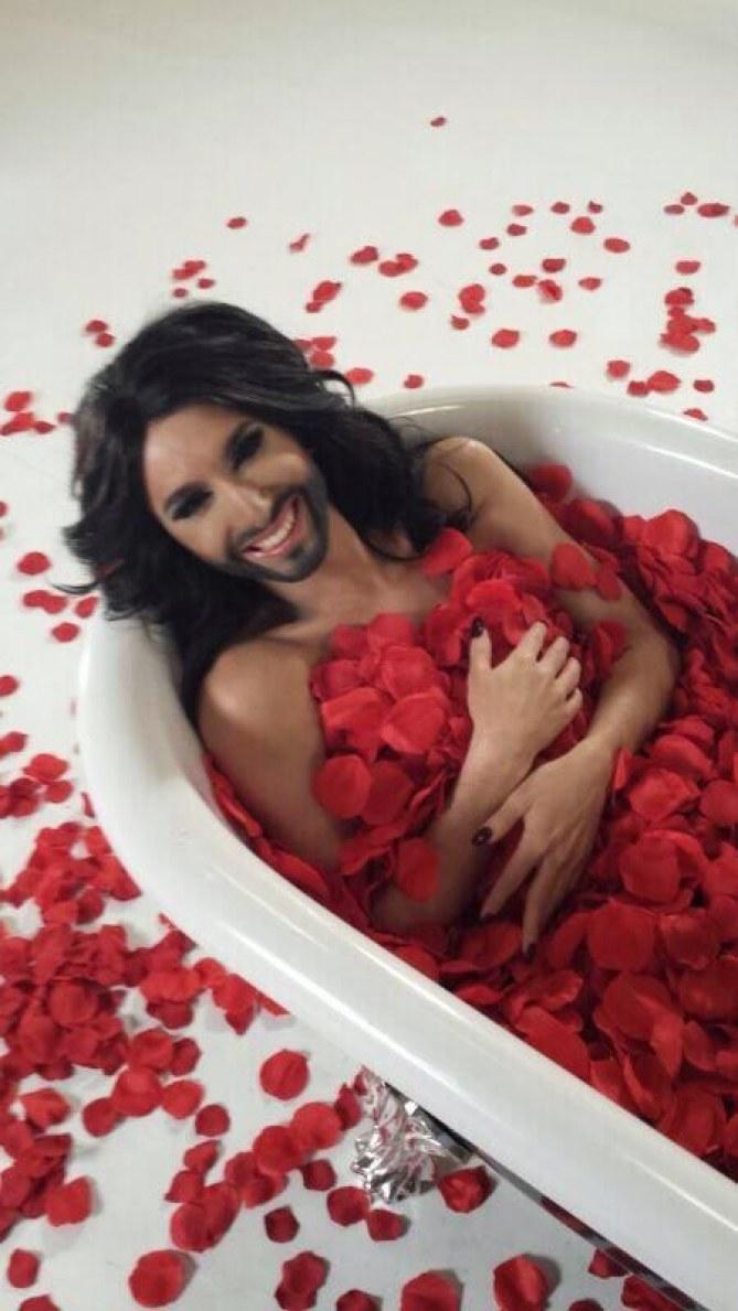 Conchita Wurst, la candidate autrichienne controversée à l'Eurovision