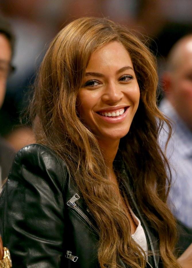Beyoncé nouvelle brunette