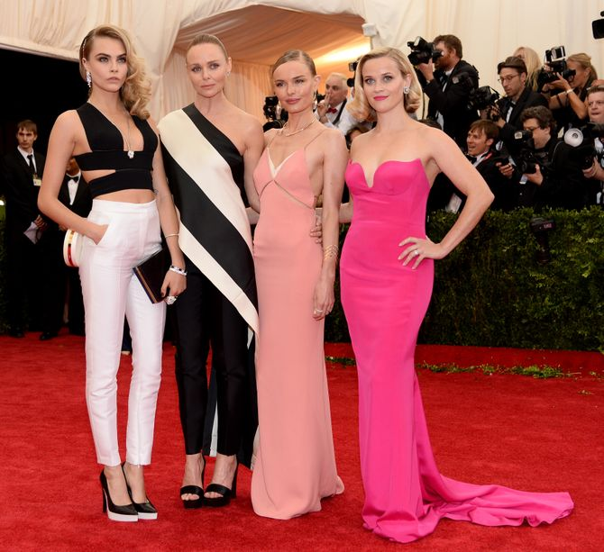 Cara Delevingne, Stella McCartney, Kate Bosworth e Reese Witherspoon