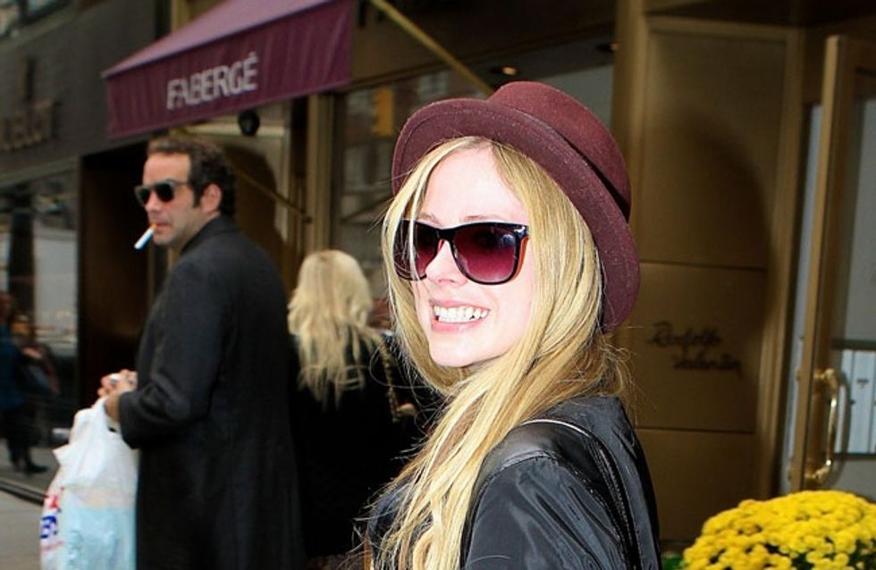 Anfassen verboten! Fans dürfen Avril Lavigne nicht zu nahe kommen