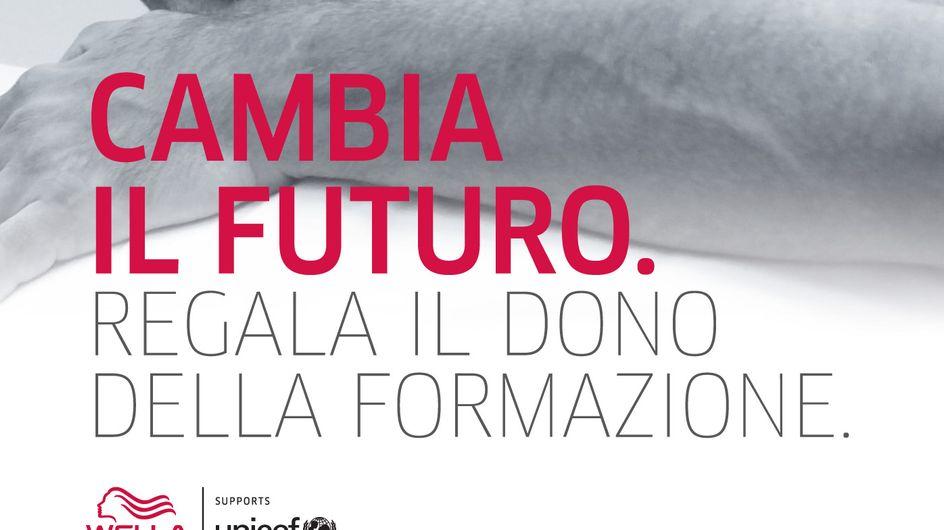 Wella e Unicef insieme per offrire un futuro migliore ai giovani disagiati