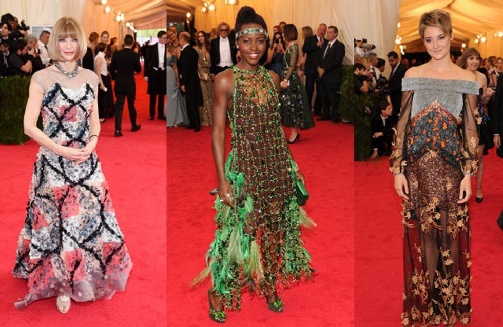 Met Ball 2014 : Les pires looks des stars sur le red carpet