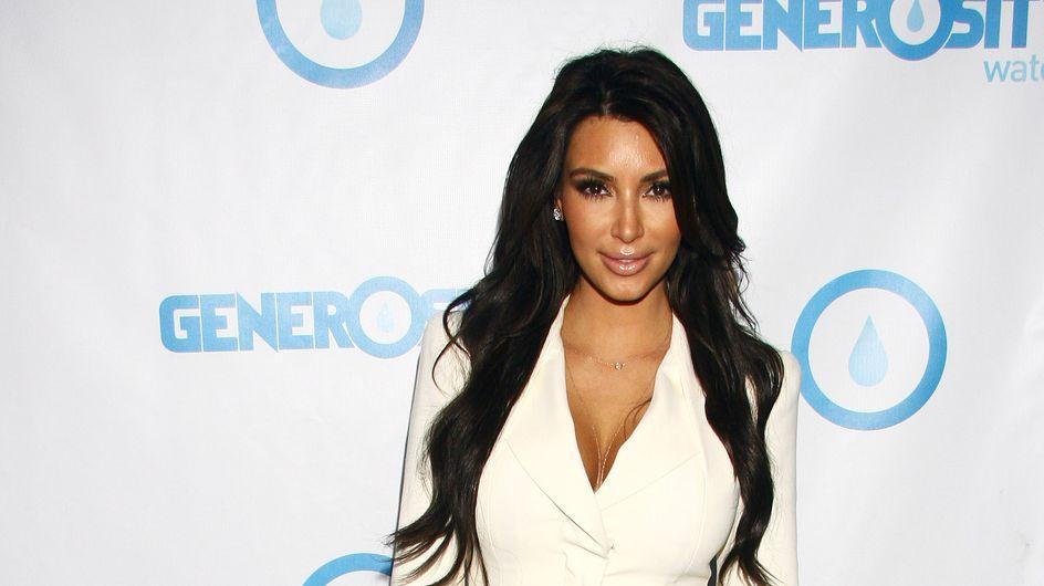 Kim Kardashian a enfin trouvé la robe de mariée idéale